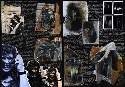 gallery visit gcse art exam sketchbook  gcse art