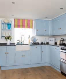 blue kitchen cabinets ideas something blue 19 amazing kitchen decorating ideas real simple