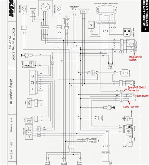 Ktm Exc Wiring Diagram Schematics Diagrams Xcw Electrical