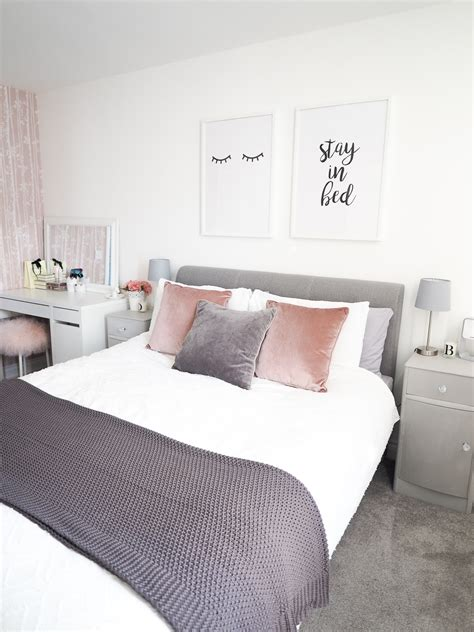 gray and pink bedroom ideas bedroom tour pink and grey bedroom decor bang on style 18815 | pink and grey bedroom decor 3