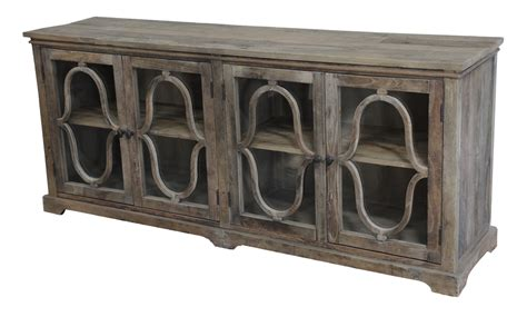 Sideboard Buffet Cabinet With Glass Doors
