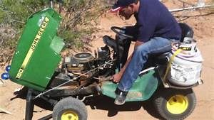 Deere Deck Mower Adjustment Parts Tractor Drive Service