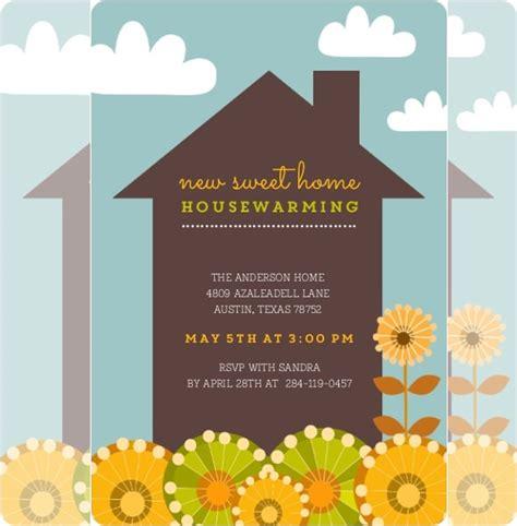 housewarming invitation template   business