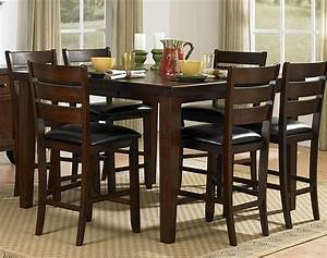 Homelegance ameillia counter height dining table dallas tx for Dining room tables counter height