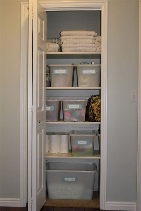 Small Hallway Closet Organization Ideas by Everywhere Beautiful Closet Makeover