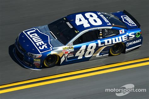 Jimmie Johnson, Hendrick Motorsports Chevrolet At Daytona 500