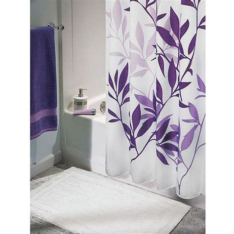 walmart purple bathroom sets 1000 ideas about purple shower curtains on