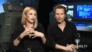 PROMETHEUS Interviews w/ Charlize Theron and Guy Pearce ...