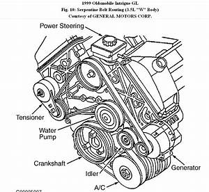 Dk 4992  2000 Olds Intrigue Engine Diagram Download Diagram