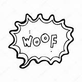 Dog Bark Bubble Speech Barking Drawing Cartoon Getdrawings Illustration Vector Lineartestpilot sketch template