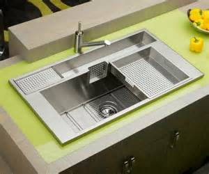 stainless steel pull kitchen faucet keeping it clean 10 unique kitchen sink designs