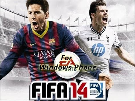 review of gameplay fifa 14 on windows phone 8 8 1 for nokia lumia 920 1020 930 1320 1520
