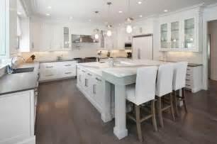white kitchen island breakfast bar l shaped bar design ideas