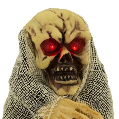 Walking Talking Light Up Animated Demon Skeleton Halloween