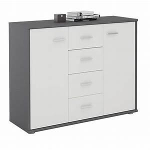 Sideboard Weiß Grau : sideboard jamie in grau wei caro m bel ~ Orissabook.com Haus und Dekorationen
