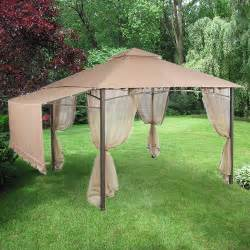 backyard canopy home depot garden house gazebo replacement canopy riplock 350