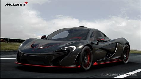 McLaren P1 carbon series 1/5 based on xp cars