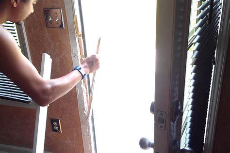 how to fix a door frame how to repair a broken door jamb door kicked in repair