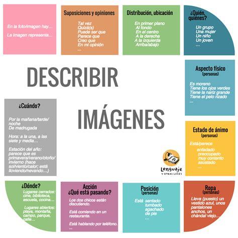 Descripción De Imágenes (dele)  Lenguaje Y Otras Luces