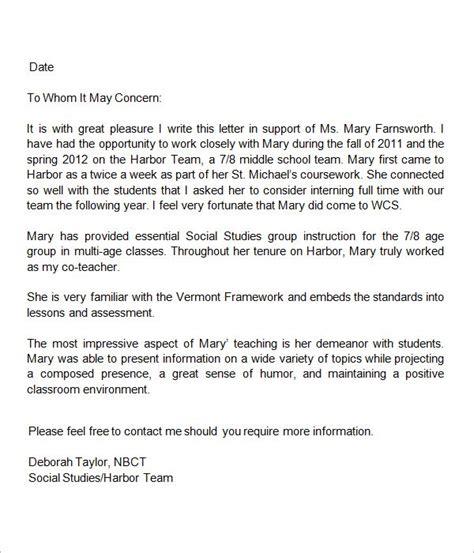 letters  recommendation  teacher teacher