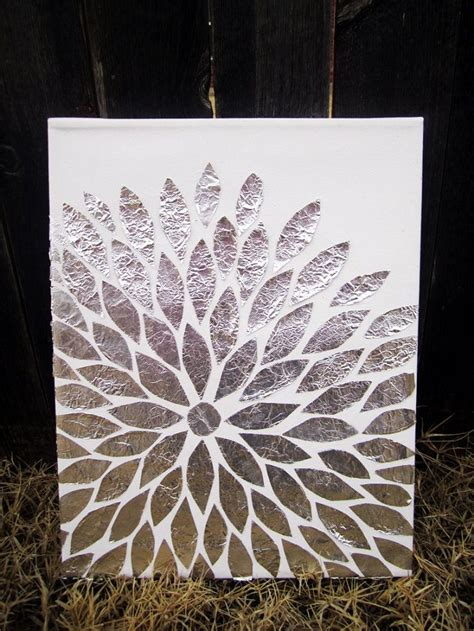 ideas for shiny aluminum foil crafts flower great gifts and homemade gifts