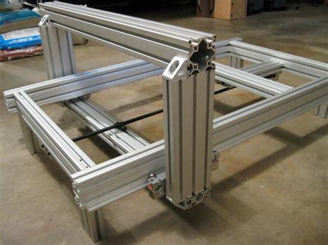 complete    custom cnc router   aluminum