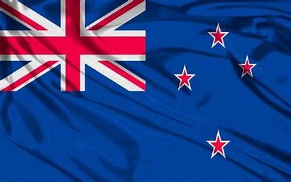 Flag Zealand Map Detailed Travel