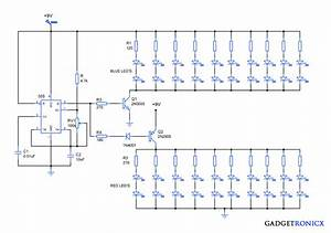 Attractive Led Lighting Circuit Diagram