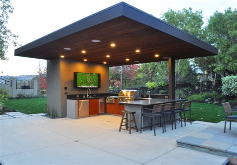 outdoor kitchen pavilion designs 10 outdoor kitchen designs we builder magazine 3863
