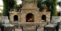 outdoor fireplace designs Outdoor Fireplace - Backyard Fireplace Designs and Ideas ...