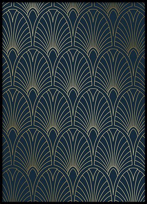 Art Deco Four Print