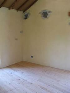 Enduit à La Chaux : enduits chaux int rieur sur mur anciens de finitions bois ~ Dailycaller-alerts.com Idées de Décoration