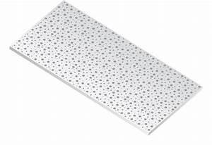 Dimension Plaque De Platre : plaque de pl tre perfor e pour plafond ou retomb e ~ Dailycaller-alerts.com Idées de Décoration