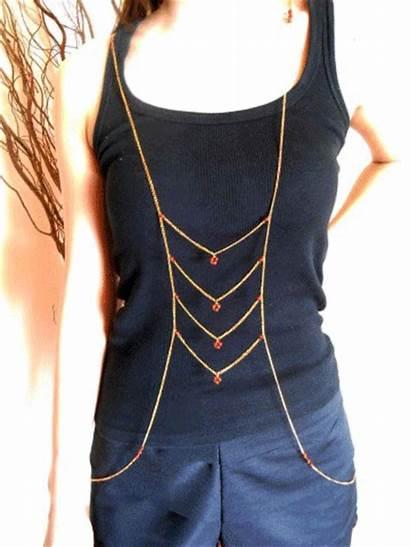 Chain Handmade Thailand Chains Bead Stone Boho