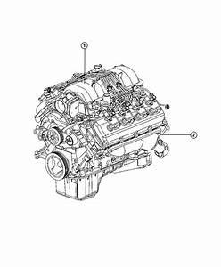 Ram 2500 Engine  Long Block  Remanufactured  Hemi