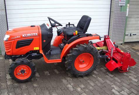gebrauchte rasenmä traktor kleintraktor allrad traktor kubota b1220 12 0ps neu ebay