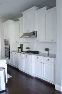 25 best ideas about white kitchen cabinets on pinterest With kitchen colors with white cabinets with art show display walls
