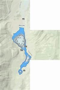 Blue Lake (Fishing Map : US_WA_01516700) | Nautical Charts App