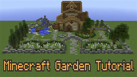 How To Improve Your Minecraft Garden! Youtube