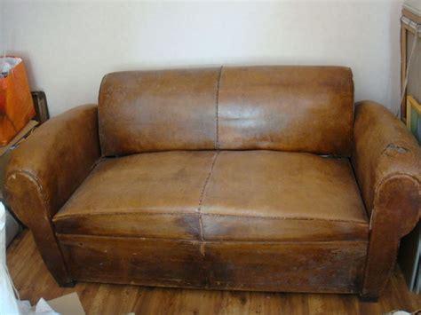 restaurer un canapé restaurer un canape en cuir irstan