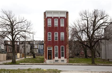 Baltimore's Last Houses Standing The Beautiful Row Houses