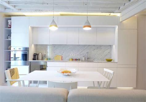 Aménagement Salon Design Avec Cuisine Ouverte
