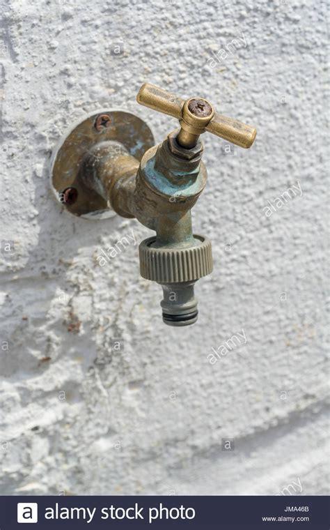 Outdoor Garden Water Tap Stock Photos & Outdoor Garden