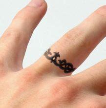 sailor s knot design wedding ring tattoo nautical wedding band tattoo unique wedding ideas