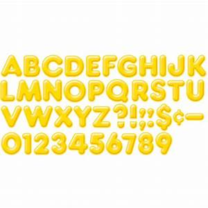 ready letters 2inch 3 d yellow t 79403 trend With ready letters