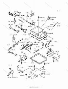 Kawasaki Jet Ski 1995 Oem Parts Diagram For Ignition