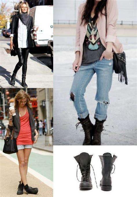 Como combinar botas militares de mujer SIN MORIR en el ...