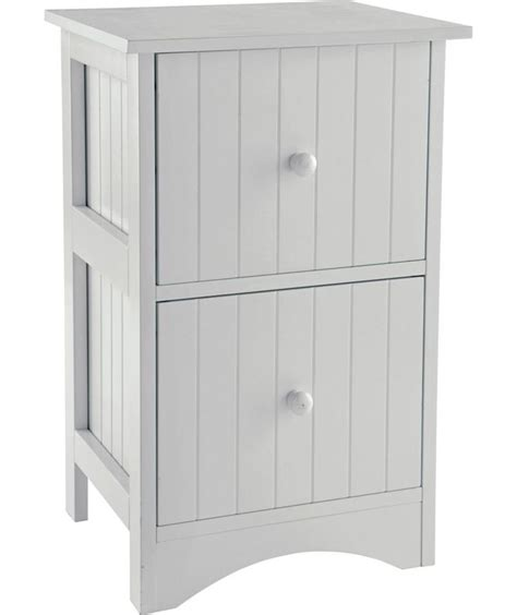 Bathroom Storage Units by Buy Tongue And Groove 2 Drawer Storage Unit White At
