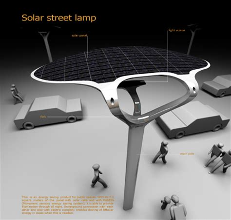 solar street l post solar powered street green technology concept with