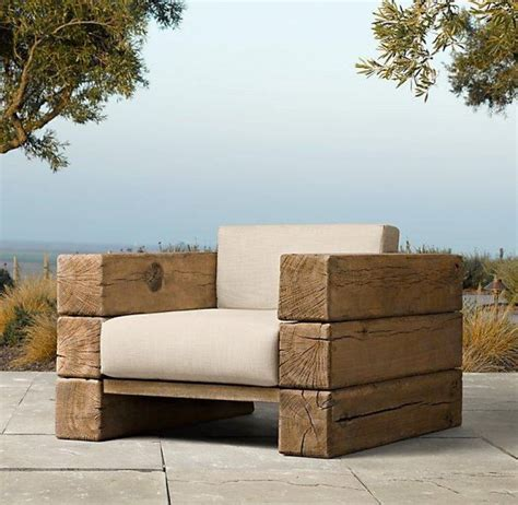 Chair Sleepers Furniture by Benches Seats Chairs From Railway Sleepers